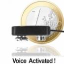 Funkbasiertes Abhörgerät (Abhör-Wanze), Sprachgesteuert, sehr hohe Sendeleistung (30mW), Reichweiten bis 3000 mtr., Totale Frequenzstabilität, Kristallklare Sprachübertragung, Profi-Minisender mit Höchstleistung für alle Ansprüche.