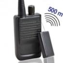 Preiswertes und komplettes Minisender-Abhörgeräte Set-500, Funk-Abhörsender mit passendem Empfänger. Klein, kostengünstig, robust, einfach in der Bedienung. Für Reichweiten bis zu 500 Meter.