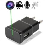 HD SpyCam im Mini-USB-Netzteil, diskrete Videoüberwachung an vielen Einsatzorten. Full-HD-Minikamera getarnt im USB-Ladestecker. Videoauflösung: 1920 x 1080. Glasklare Videoaufzeichnung. In Echtzeit aufzeichnen, alle Video-und Audio-Beweise sofort.